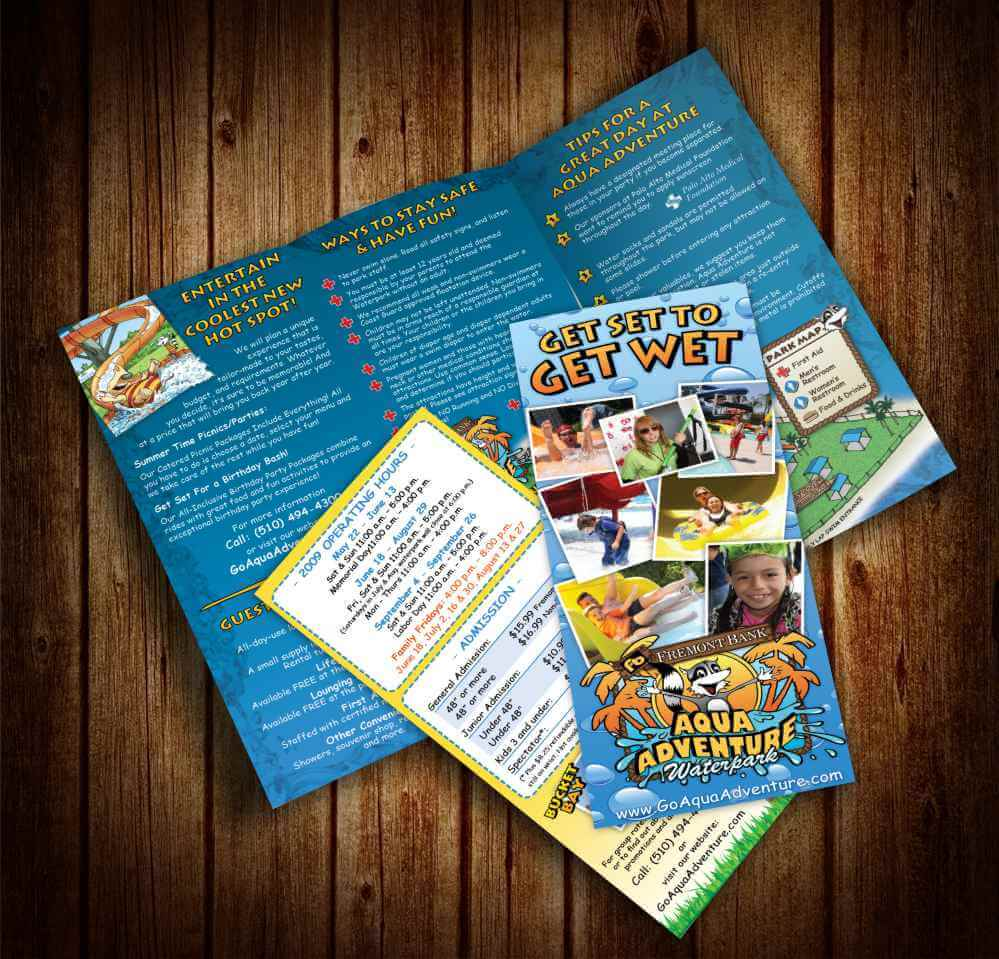 Impression Design Aqua Adventure Flyers