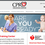 Impression Design Clients CPR Training Center